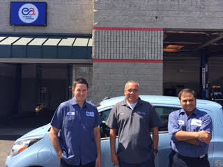 Escondido Auto Pros - Look for the blue signs