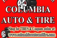Columbia Auto & Tire Service - Menu Board Ad