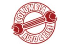 Columbia Auto & Tire Service - Columbia & Tire Logo
