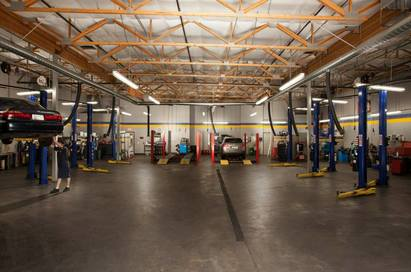 Stamps Automotive - State of the art facility.
