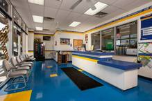 Stamps Automotive - Comfortable customer area.