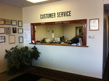 Foreign Traffic Import Sales & Service - Our service reception counter