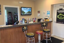 Gary Johnston Automotive Service - Service counter.