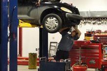 Gary Johnston Automotive Service - This is Chuck, he has over 40 years in the business. Engine diagnostic specialist.