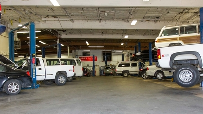 Greg's Garage - 14,000 Sq, Ft. of auto repair and maintenance.