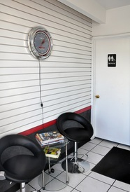 AE German Car Service - Waiting area,wi-fi and restroom available.