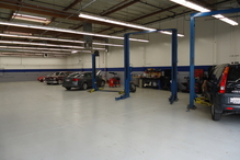 Toole's Garage - Here is where the services and repairs are done. 5600 square feet of shop space.
