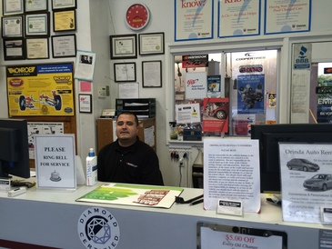 Orinda Motors - Check in at the Front Desk!
