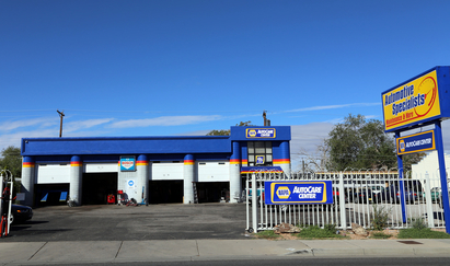 Automotive Specialists - Maintenance & More - On Wyoming, just south of Lomas.