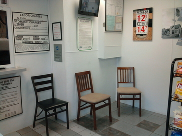 New Canaan Avenue Service. Inc - Customer waiting area