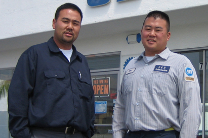 SB Automotive - Owners Brian (Left) and Sean (Right)