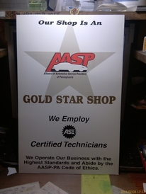 Wayne's Garage Inc - AASP Gold Star Shop