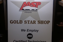 Wayne's Garage Inc - AASP Gold Star Shop AASP Green Star Shop / Environmentally Friendly. We recycle Used oil,Tires,metals,fluids.