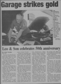 Leo & Son Garage Inc - This is a article  written about our facility on our 50th anniversary