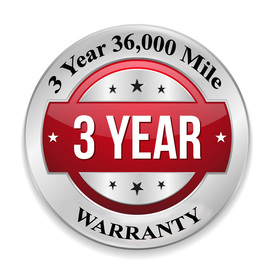 Leo & Son Garage Inc - Standard 3 year 36,000 mile warranty