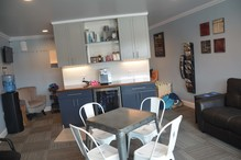 """Leo & Son Garage Inc - """"leo's Lounge"""" is all new to us. We set out to have the best waiting are in the area. I think we accomplished our goal, customers love it. great places to relax, work or get a bit at breakfast bar"""