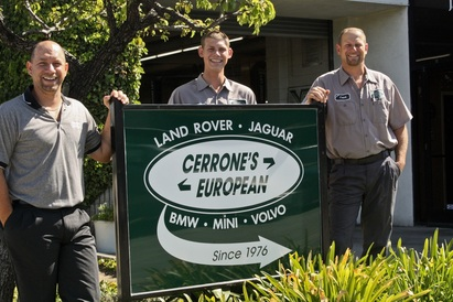 Cerrone's European - From Left to Right. Anthony Cerrone, Tyler Cerrone and Frank Cerrone. 2nd and 3rd Generation.