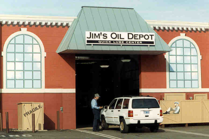 Davis Auto Care - Our Quick Oil Change - Jim's Oil Depot