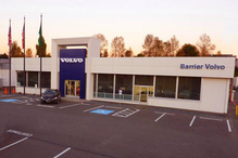 Barrier Volvo Service & Tire Center Small - Our new location on Bellevue's autos row. Take 4th street exit off I-405, go east to 116th and turn left.
