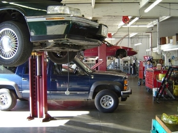 Precision Automotive Service - Inside our 5,000 square foot, 4 bay shop