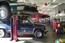 Precision Automotive Service - Inside our 5,000 square foot, 4 bay shop