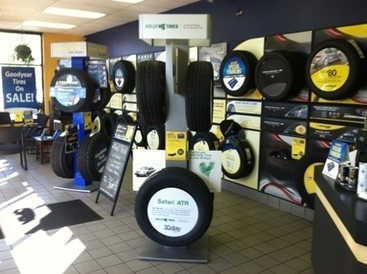 D.W. Campbell Goodyear - Showroom