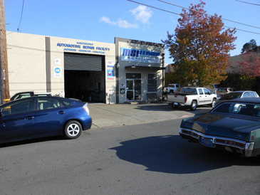 MSI Automotive - Our shop is located near the downtown area of San Rafael walking distance to Star Buck and Restaurants