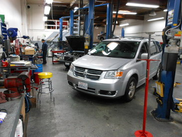 MSI Automotive - This is the repair area where your vehicle will be repaired and service as if it was our own vehicle