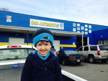 CMD Automotive - A really happy customer (okay, customer's son).