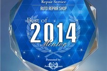 Concord Auto Repair Service - Our most recent award!