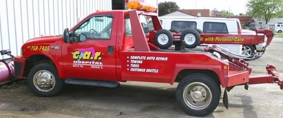Bill White's Car Hospital - Towing service