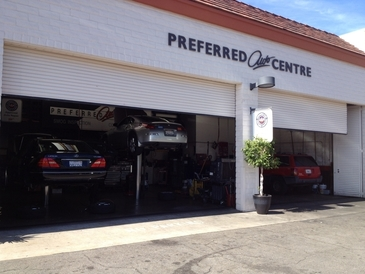 Preferred Auto Centre - front view
