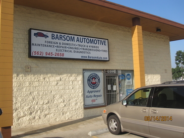 Barsom Tire & Auto Repair - Office entrance on Washington Boulevard