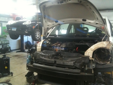 Country Auto Care & Tire Center - VW Beetle radiator replacement