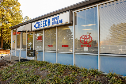 Creech Import Repair, Inc. - We are located at 1818 St. Albans Drive Suite 106 in the Pine Tree Harrispark building.  Raleigh NC 27609