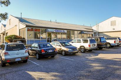 Creech Import Repair, Inc. - Plenty of parking.