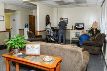 Creech Import Repair, Inc. - We have the most comfortable customer lounge in town!