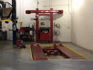 Frank's European Service - Frank's European Service alignment equipment, this is the same equipment used at the dealerships.