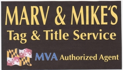 Marv & Mikes Transmission & Auto Repair - Marv&Mike's is an authorized agent for the MVA providing tag and title services to our customers.