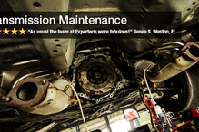 Expertech Auto Repair & Tire Service - Problem with your transmission? No problem. We have the right tools and the know how to get the job done effectively and efficiently at a fair price.