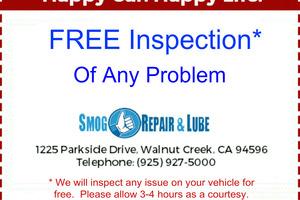 Smog Repair and Lube