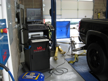 Fifth Gear Automotive - dyno photo diesel test