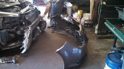 Innovative Autocare - Removing the front bumper to replace headlight bulbs on a 2011 Chevy Malibu.