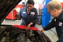 A & E Automotive and Towing - Richard and Juan have a combined 68 years of experience as auto mechanics.  So, yeah, they've probably seen that problem before.