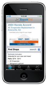 Honest-1 Auto Care - Get the RepairPal App and bring the estimate with you