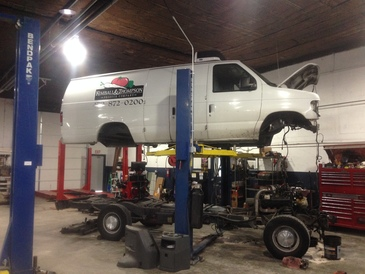 HCS Auto Repair - We do complete off chassis rebuilds on diesel chassis