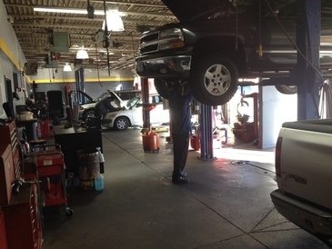 D.W. Campbell Goodyear - Our state of the art shop & ASE certified Technicians.