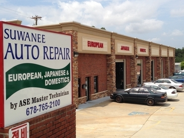 Suwanee Auto Repair - Our facility is large, open, and very clean. We regularly invite customers into the shop to show them work needed.