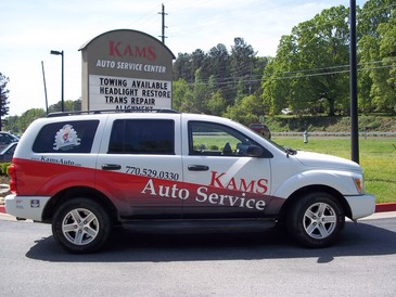 KAMS Auto Service Center - Our customer shuttle is available to take you home or to work.