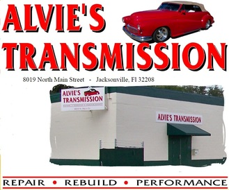 Alvie's Transmission Service Unlimited - Alvie's Where The Quality Goes in Before The Car Drive's off